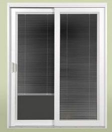 Belle Vue Eclipse Sliding Patio Door With Blinds Built In