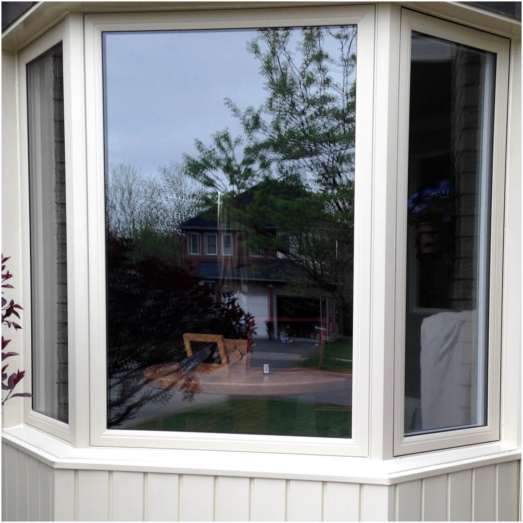 Replacement windows and vinyl replacement windows all for Vinyl bay window