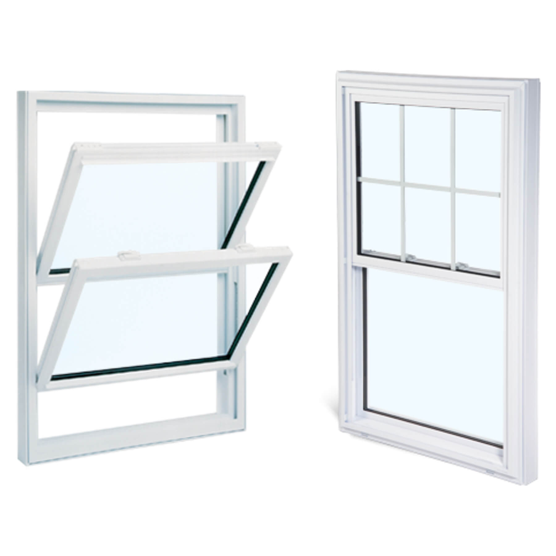 Replacement windows and vinyl replacement windows all for Double hung window