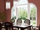 Custom Window In Dining Room
